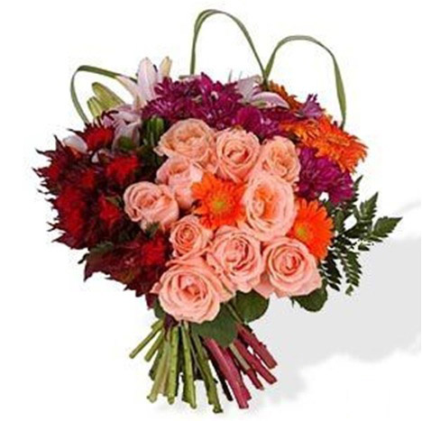 bouquet-red-pink-orange